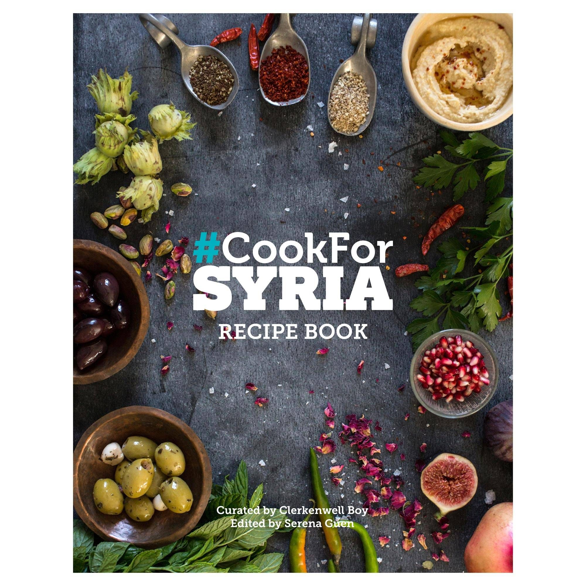 199becad1 Unicef UK Market | Authentic Syrian Cookbook for UK Syria Emergency Fund -  CookForSyria $25(pounds)