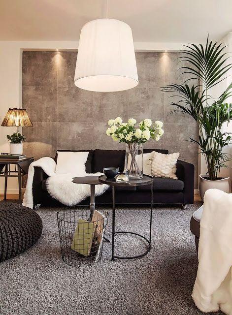 South Shore Decorating Blog Elegant Living Room Black Sofa Living Room Decor Living Room White