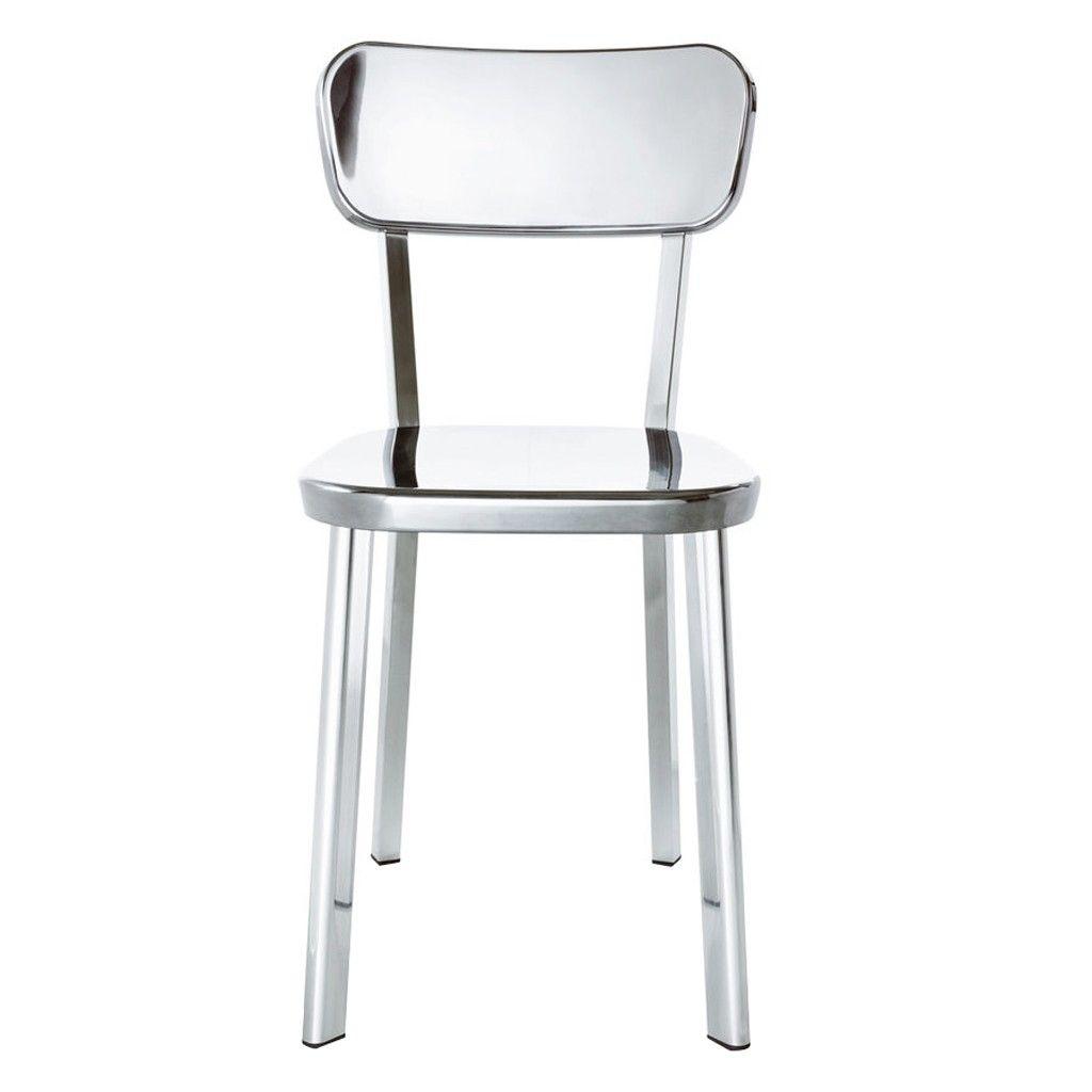 Déjà-vu Chair in Polished Aluminium - The Conran Shop ...