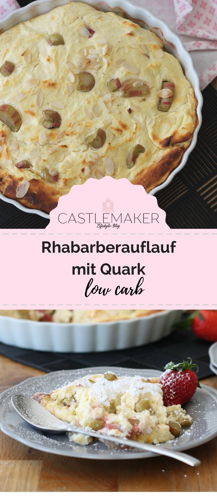 Photo of Rezept Rhabarberauflauf mit Quark – low carb