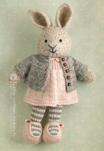 Knitting Patterns For Disney Toys : More beauty from Little Cotton Rabbits Little cotton rabbit Pinterest D...