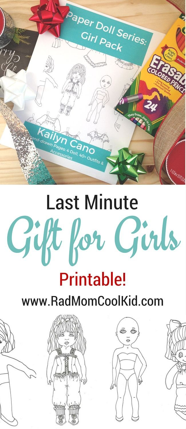 Perfect last minute gift for girls last minute paper and accessories