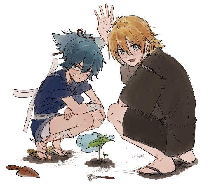 twitter touken ranbu cute characters anime