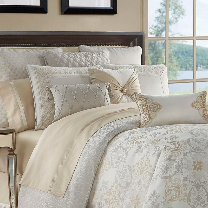 Shelah Gold Reversible 4 Piece Comforter Set With Images