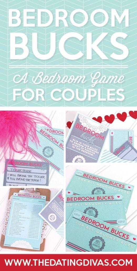 Bedroom Bucks Game For Couples | Bedroom games, Love games ...