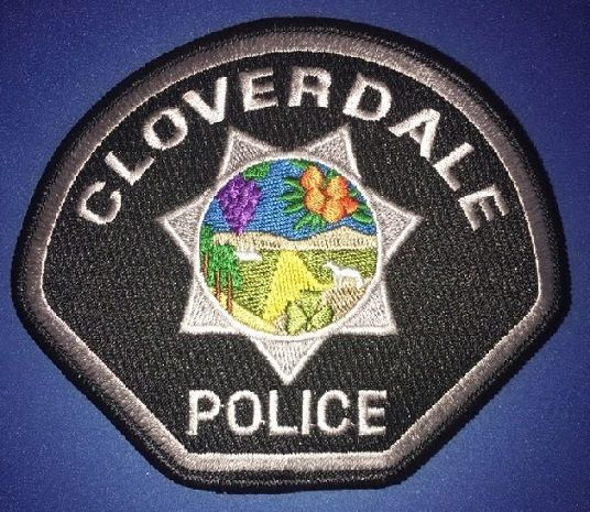 Cloverdale Pd Calif 1 Police Patches Police Badge