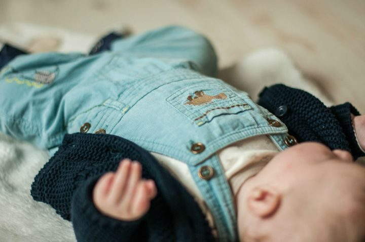 Baby #ootd – Beige or Blue? | Bark Time