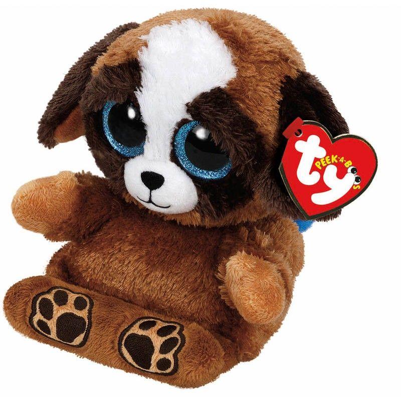 Ty Pups The Peek A Boo Dog Stuffed Animals Peek A Boos Beanie