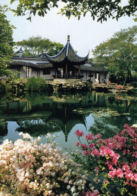 suzhou gardens PAISAJES Pinterest Paisajes, Jardines y Jardín - paisajes jardines