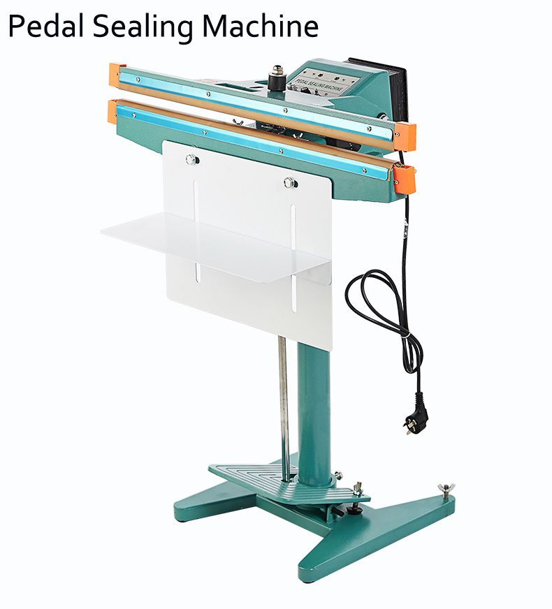 Aluminum Frame- 450mm Pedal Sealing Machine Plastic Bag Sealer 17 ...