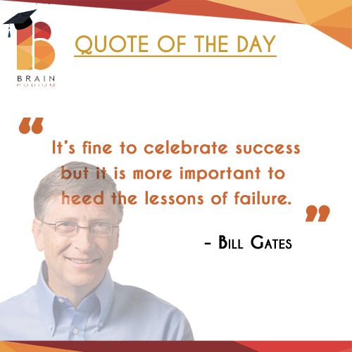#quoteoftheday #quote #quotes #life #inspiration #QOTD #motivation #quotestoliveby #truth #wisdom #business #BillGates visit our site: http://goo.gl/ezvOvE