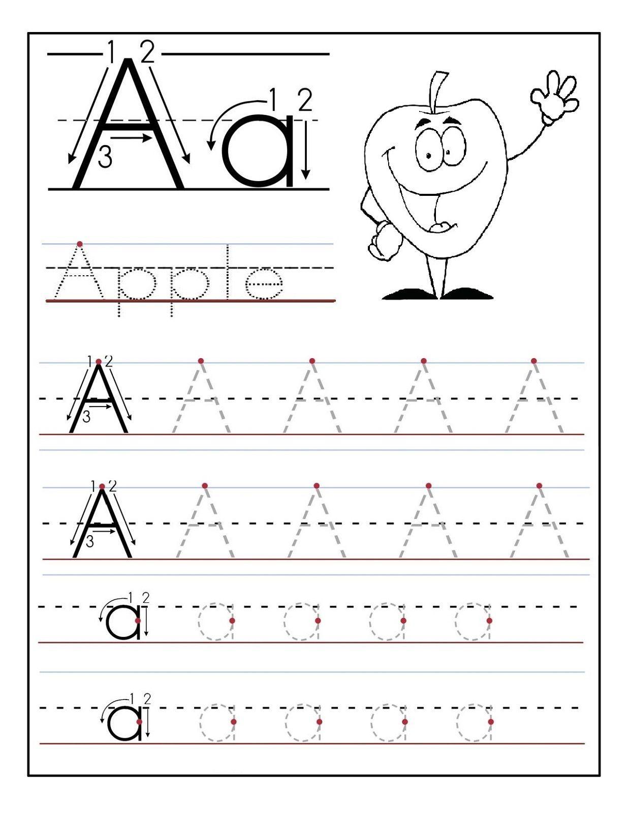 Free Preschool Letter A Printables