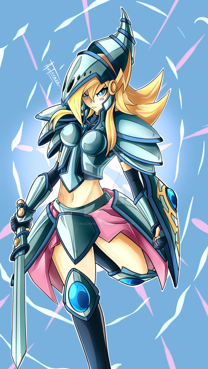 Dark Magician Girl the Dragon Knight by CRAZZEFFECT on ...