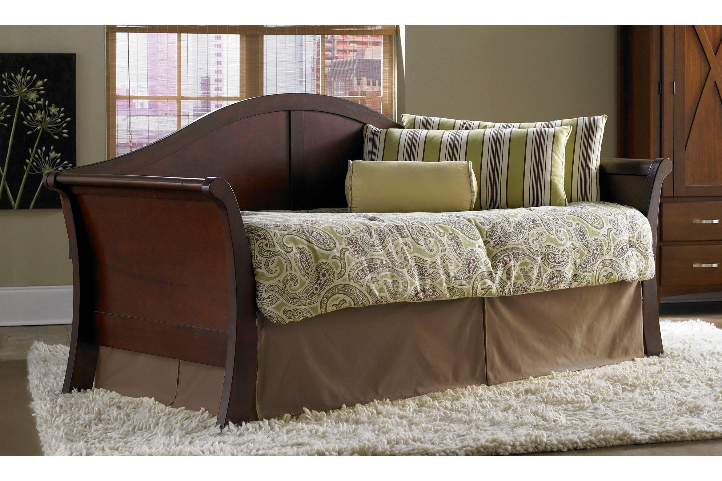 bedroom elegant wooden daybed with pop up trundle sears on double duty bedroom office. Black Bedroom Furniture Sets. Home Design Ideas