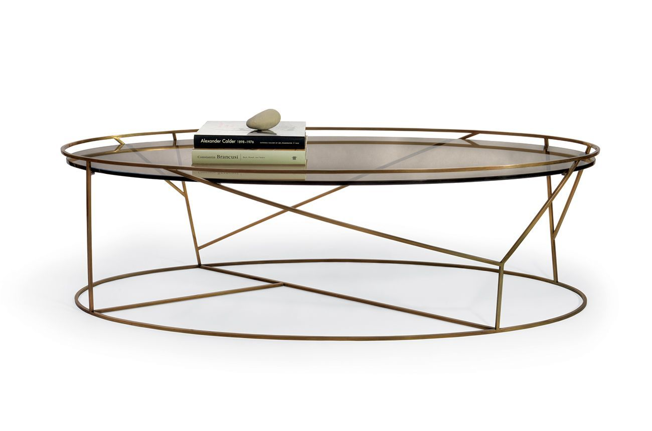 Thicket Coffee Table By Ted Boerner Living Room Coffee Table Metal Coffee Table Oval Coffee Tables [ 860 x 1300 Pixel ]