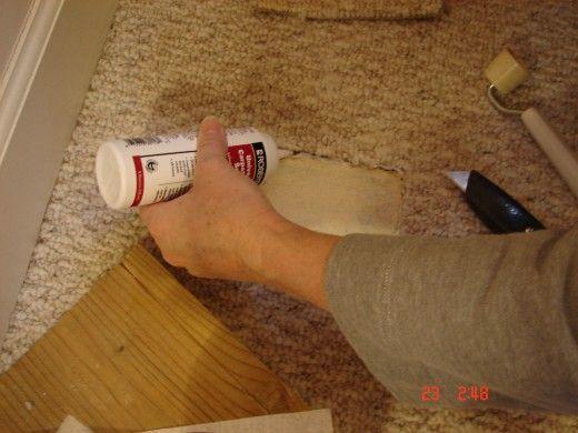How To Repair Carpet Holes And Tears Carpet Cleaning Hacks Carpet Repair How To Clean Carpet
