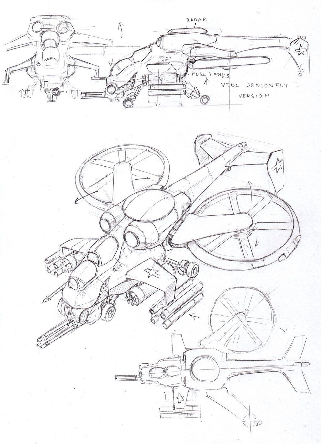 Concept Ship Art