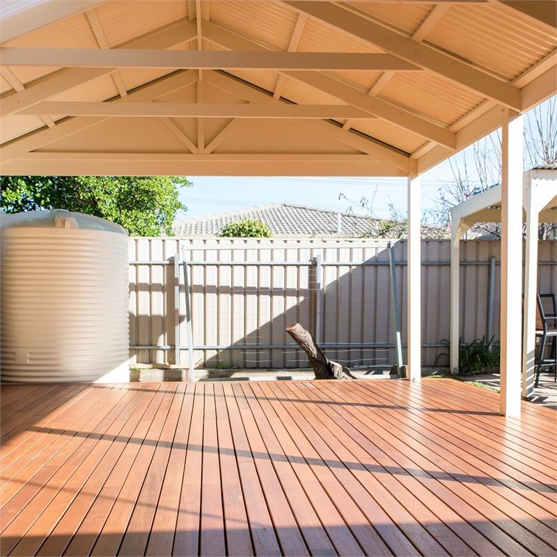 Softwoods 3.6 x 4.9m Colorbond Gable Roof Pergola Kit