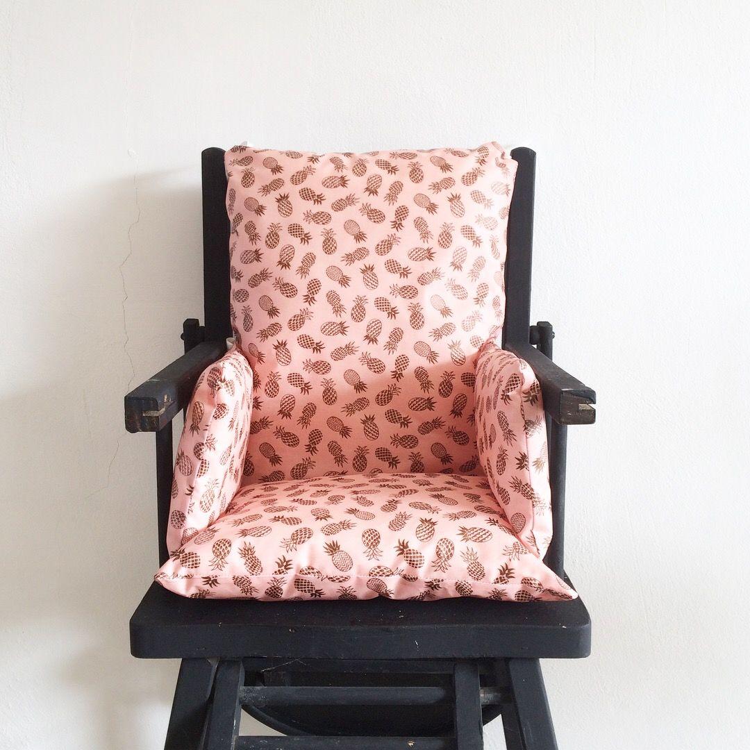 epingle sur coussins de chaise haute