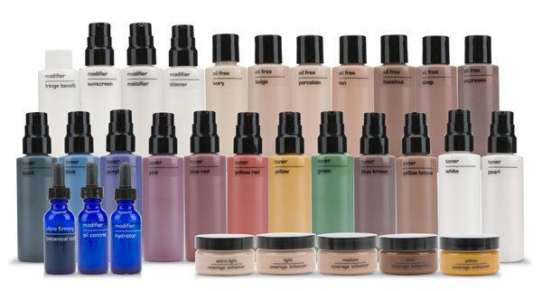 Customize your own liquid foundation Motives cosmetics