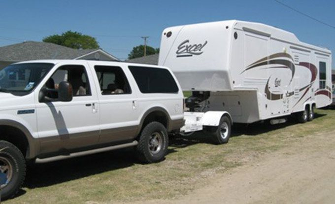 Automated Safety Hitch System Review Ford Excursion Fifth Wheel