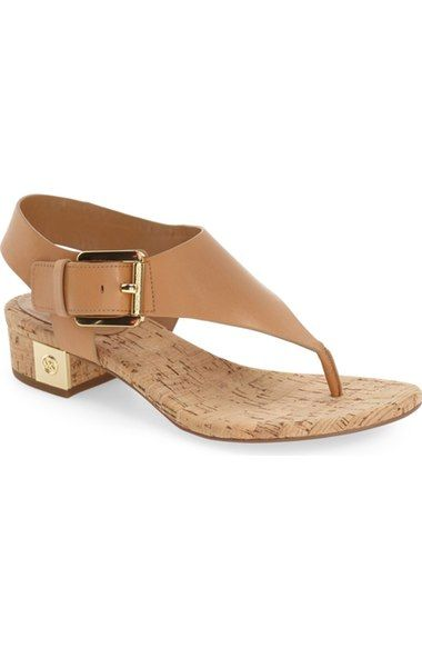 113acb12bb MICHAEL Michael Kors 'London' Thong Sandal available at #Nordstrom Low Heel  Shoes,