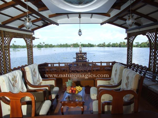 Kerala Houseboat/houseboat Interior Part 68