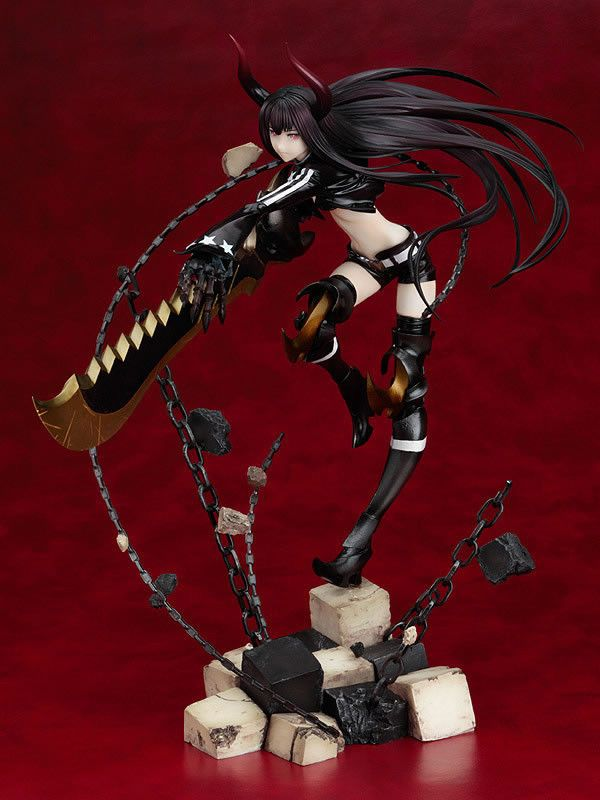 Black ★ Rock Shooter - Black ★ Gold Saw - 1/8 - Anime Ver ...