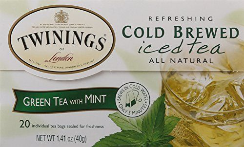 Twinings Green Mint Cold Brewed Tea 20 Count Http Www