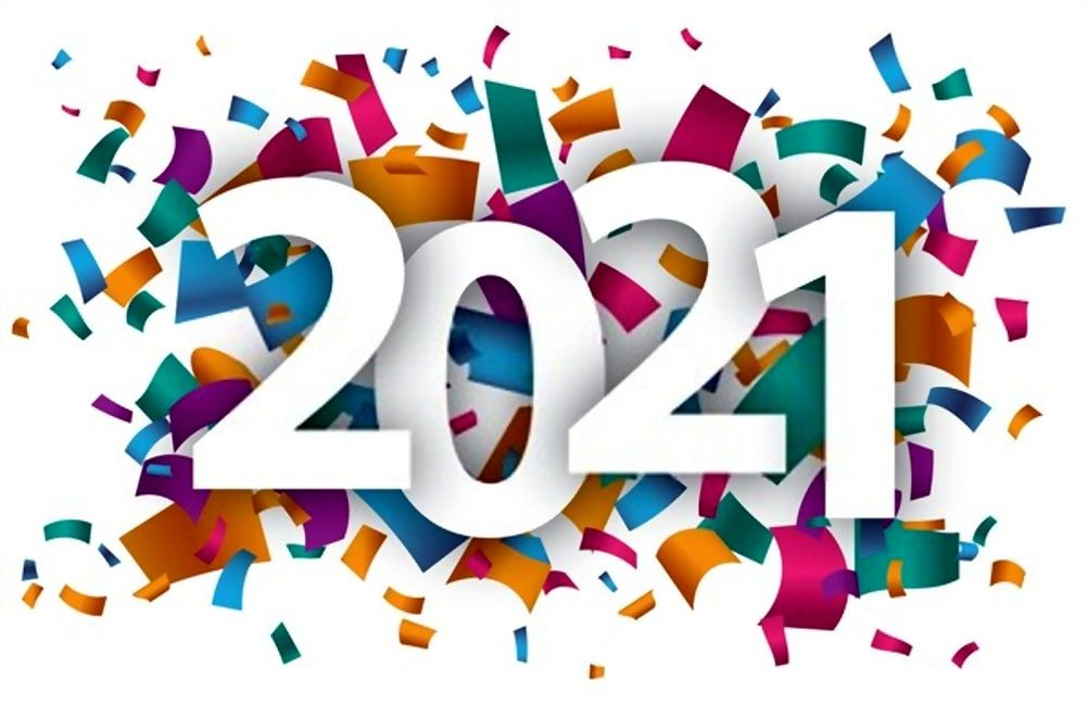 Stunning Happy New Year 2021 Images in 2020 Happy new