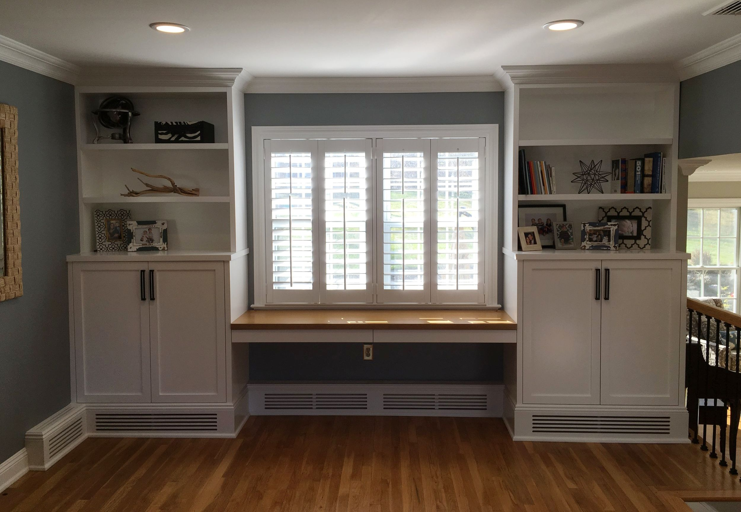Gallery Fine Point Living Room Makeover Kitchen Cabinets Baseboard Heating