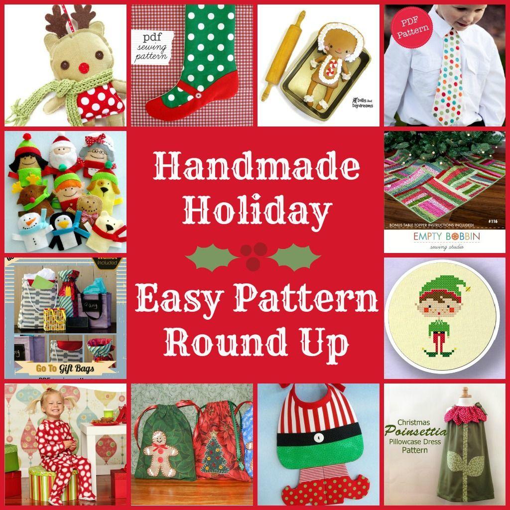 Easy Sew Holiday Patterns | Christmas DIY & Ideas | Pinterest ...