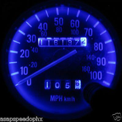 Jeep Wrangler Yj 1987 1995 Super Blue Led Gauge Amp Dash Light