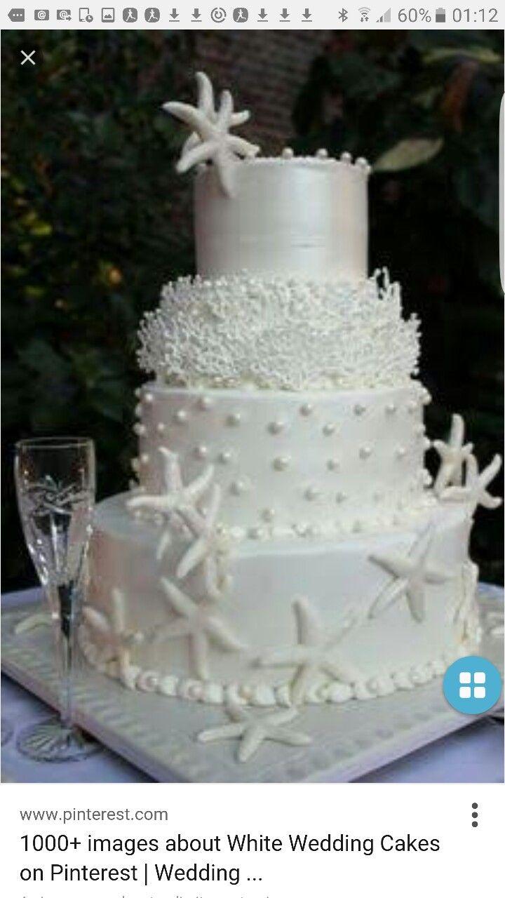 Pin by Danusa franco on bolo casamento   Pinterest   Beach cakes
