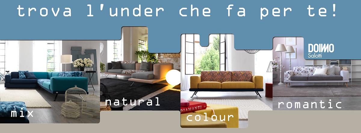 Trova l'under che fa per te! Scegli il #tessuto e configura il tuo #divano http://www.under.doimosalotti.it/ #underdoimosalotti #doimosalotti