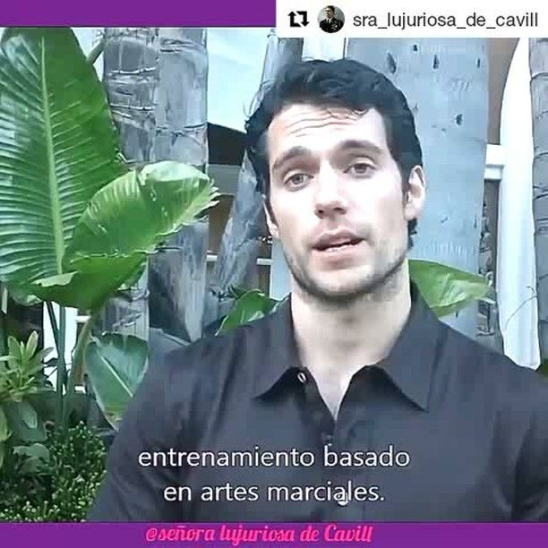 """37 Me gusta, 1 comentarios - Marta Cavill (@marcavill990) en Instagram: """"#Repost @sra_lujuriosa_de_cavill (@get_repost) ・・・ Vídeo #2 Entrevista a Henry del entrenamiento…"""""""