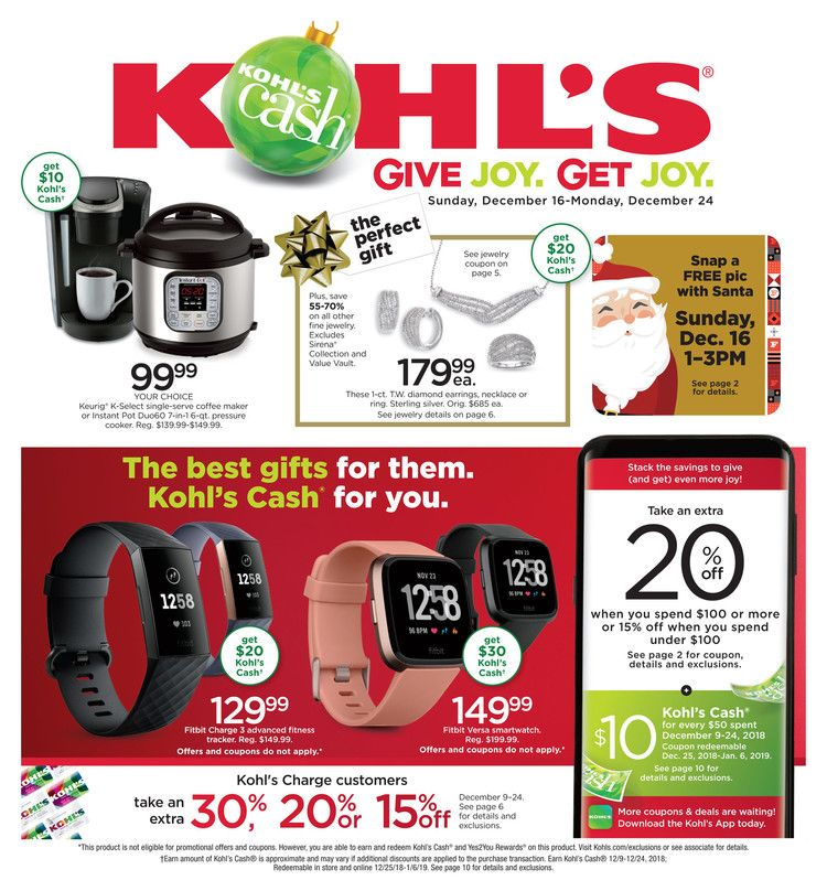 Kohl S Weekly Ad Flyer January 17 27 2019 Weeklyad123 Com Weekly Ad Circular Grocery Stores Hair Appliance Storage Appliance Logo Smart Home Appliances