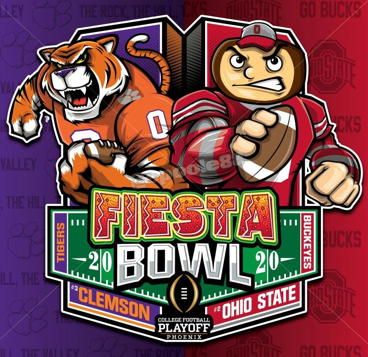 2020 ncaa fiesta bowl clemson university tigers v ohio