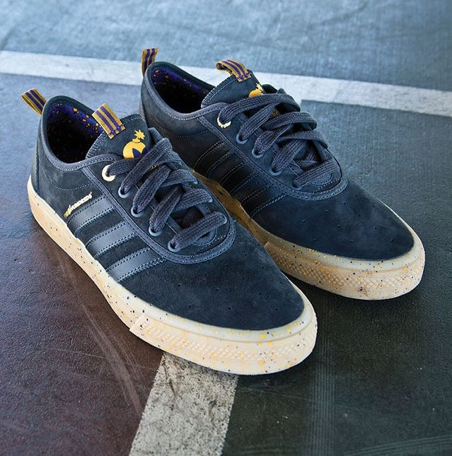 The Hundreds X Adidas Skateboarding Adi Ease Adv Lakers Adidas