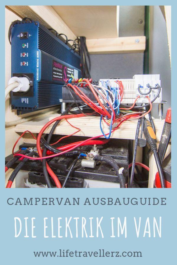 Photo of Du bist auf der Suche nach einer Anleitung für die Elektrik im Campervan? Hier …