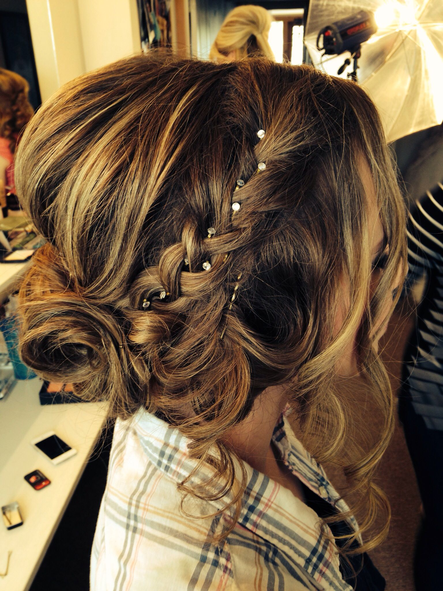 Pin By Kimberly Pedre On Everything Prom Hair Styles Hair Up Styles Hair Styles 2014