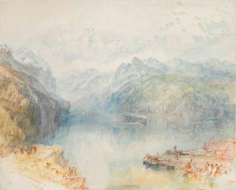J M Turner: The Making of a Modern Artist W