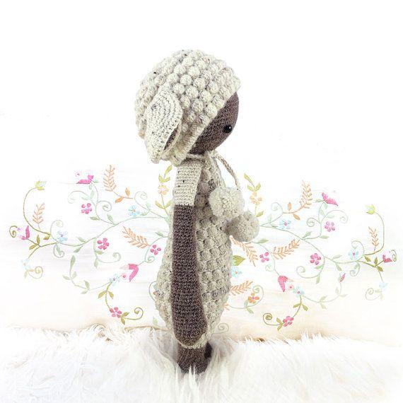 lalylala oveja / corderillo LUPO PATRÓN de crochet en por lalylala