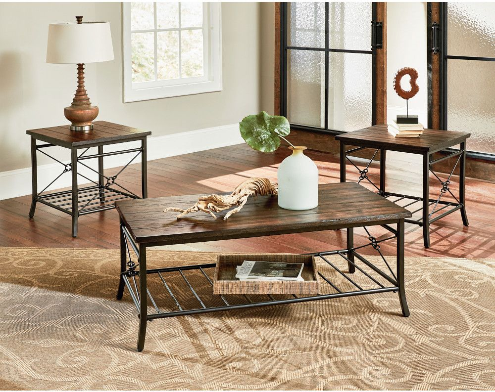 Ainsley Occasional Collection American Freight Sears Outlet Coffee Table 3 Piece Coffee Table Set Coffee Table Setting [ 793 x 1000 Pixel ]