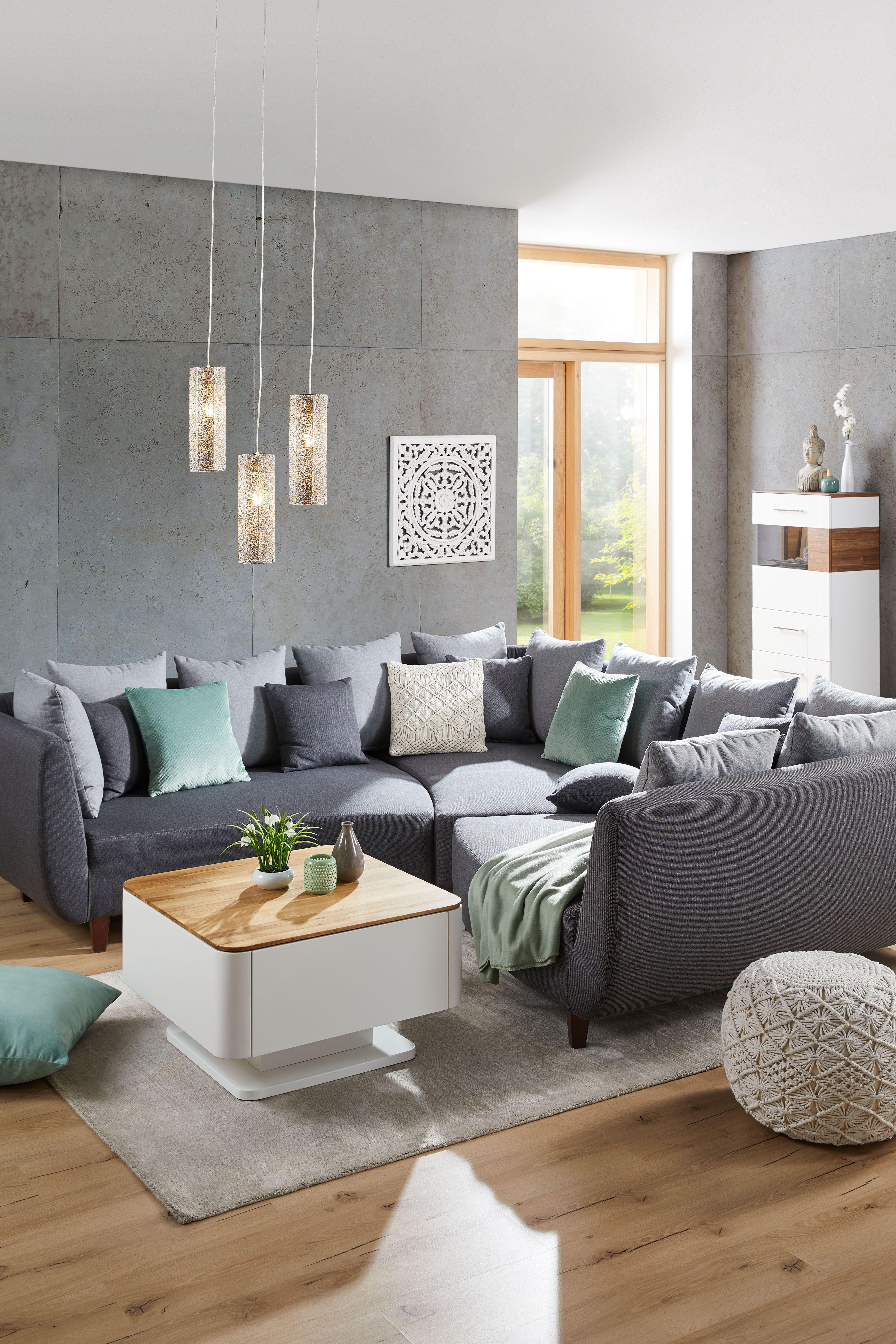 Sofaelement in Grau  Graues sofa wohnzimmer, Wohnzimmer ideen