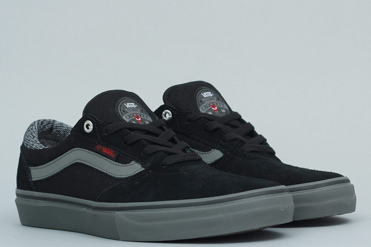 Vans Gilbert Crockett Pro Independent Black   Charcoal  f64f6b41eb