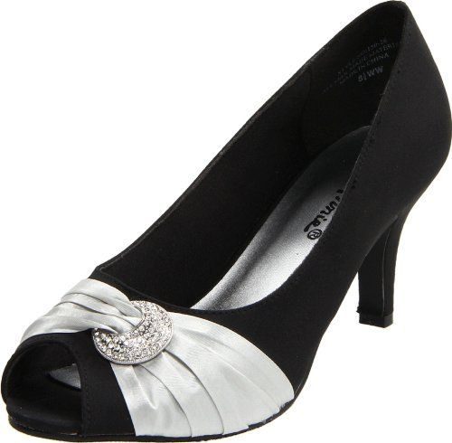 Annie Shoes Women's Madora Open-Toe Pump $60.00