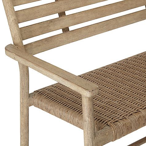 Croft Collection Islay Garden Bench, FSC Certified (Eucalyptus), Natural At  John Lewis