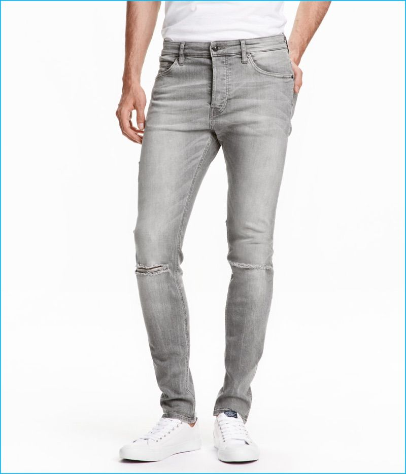 6533fc16 H&M Makes a Case for Tapered Low Denim Jeans | Men's Denim | Jeans ...