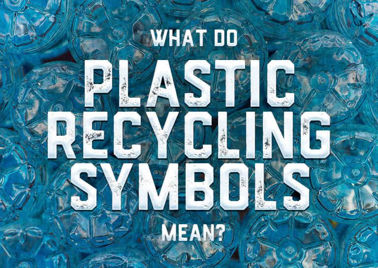 What Do Plastic Recycling Symbols Mean Plastic Recycling Recycle